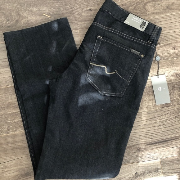 BNWT seven for all mankind men's jeans Austyn fit